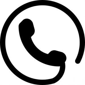 symbole-de-telephone-d&-39;un-auriculaire-avec-un-cordon-circulaire-autour_318-49659